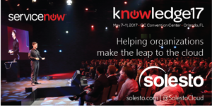 Solesto at knowledge17